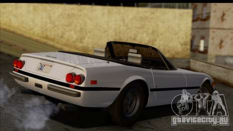 Ferrari 365 GTS4 Daytona (US-spec) 1971 для GTA San Andreas вид слева