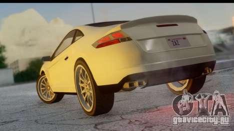 GTA 5 Maibatsu Penumbra для GTA San Andreas вид слева
