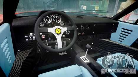 Ferrari F40 1987 [EPM] Tricolore для GTA 4 вид изнутри