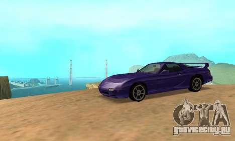Beta ZR-350 для GTA San Andreas вид справа