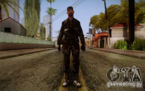 Soldier Skin 3 для GTA San Andreas