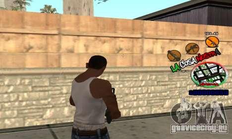 C-HUD La Cosa Nostra для GTA San Andreas третий скриншот