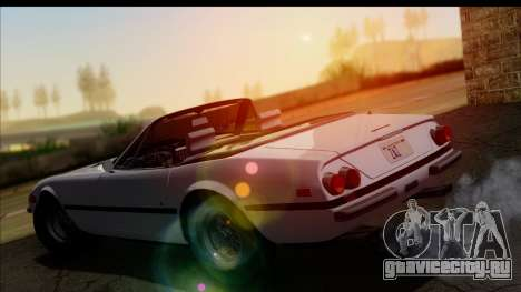 Ferrari 365 GTS4 Daytona (US-spec) 1971 для GTA San Andreas вид снизу