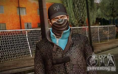 Aiden Pearce from Watch Dogs v3 для GTA San Andreas третий скриншот