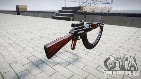 Автомат АК-47 Collimator and HICAP для GTA 4 второй скриншот
