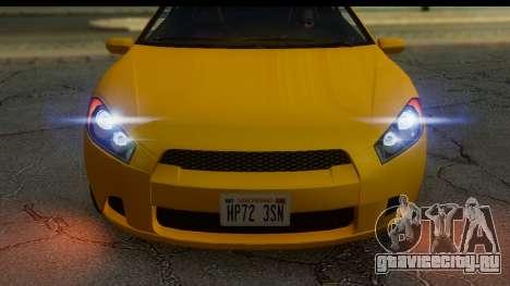 GTA 5 Maibatsu Penumbra IVF для GTA San Andreas вид сзади слева