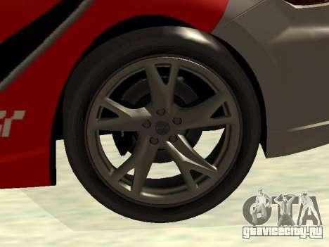 Nissan 370 Z Z34 2010 Tunable для GTA San Andreas салон