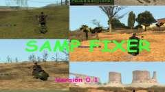 SAMP Fixer для GTA San Andreas