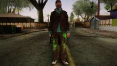 Aiden Pearce from Watch Dogs v3 для GTA San Andreas