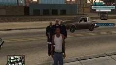 C-HUD Человек в Кепке для GTA San Andreas