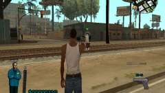 FBI HUD для GTA San Andreas