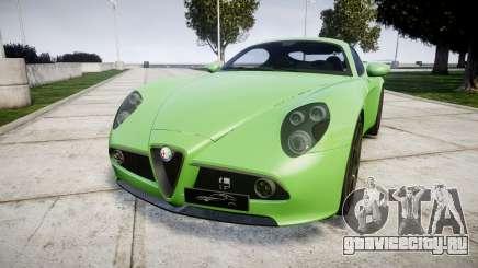 Alfa Romeo 8C Competizione 2008 для GTA 4