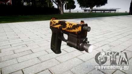 Пистолет HK USP 45 tiger для GTA 4