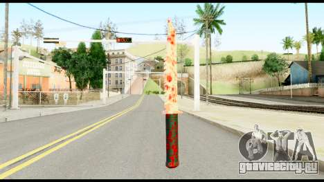 Knife with Blood для GTA San Andreas второй скриншот