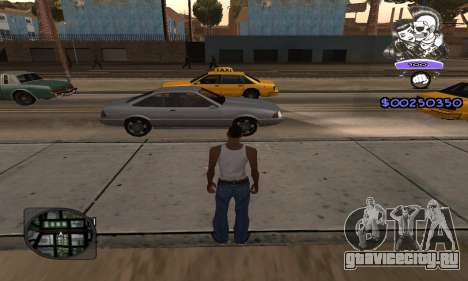 C-HUD Skillet для GTA San Andreas второй скриншот