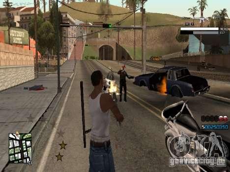 Simple C-HUD для GTA San Andreas второй скриншот