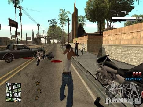 Simple C-HUD для GTA San Andreas третий скриншот