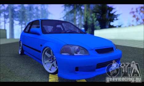 Honda Civic HB (BLG) для GTA San Andreas