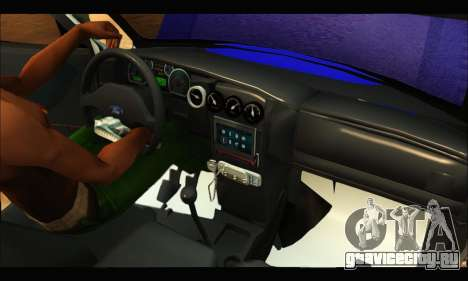 Ford Ranger 2011 Policia Bonaerense для GTA San Andreas вид сзади