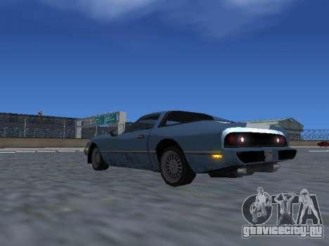 New Phoenix для GTA San Andreas колёса