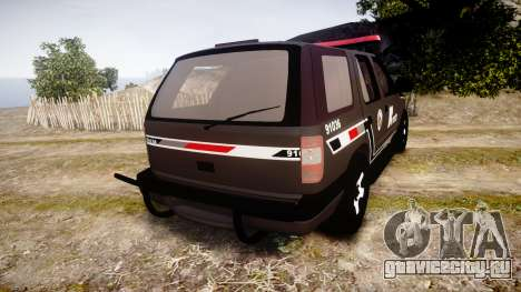 Chevrolet Blazer 2010 Rota Comando [ELS] для GTA 4 вид сзади слева