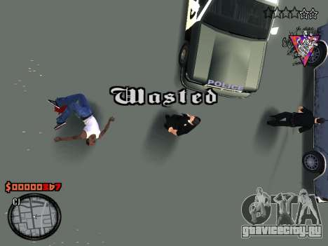 C-HUD Style для GTA San Andreas пятый скриншот