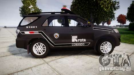Toyota Hilux SW4 2015 ROTA [ELS] для GTA 4 вид слева