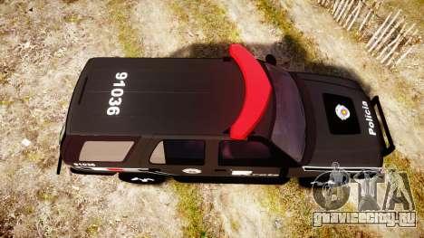 Chevrolet Blazer 2010 Rota Comando [ELS] для GTA 4 вид справа