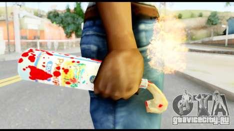 Molotov Cocktail with Blood для GTA San Andreas третий скриншот