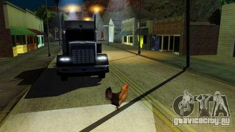 Возможность из GTA V играть за животных для GTA San Andreas двенадцатый скриншот