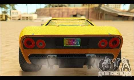 Vapid Bullet Gt (GTA V TBoGT) для GTA San Andreas вид справа
