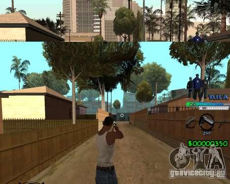 C-HUD Rifa для GTA San Andreas четвёртый скриншот