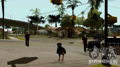 Возможность из GTA V играть за животных для GTA San Andreas