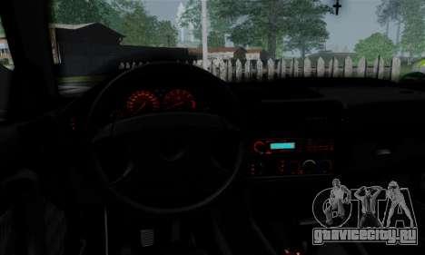 BMW 525 E34 Rims для GTA San Andreas вид изнутри