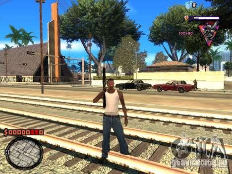 C-HUD Style для GTA San Andreas