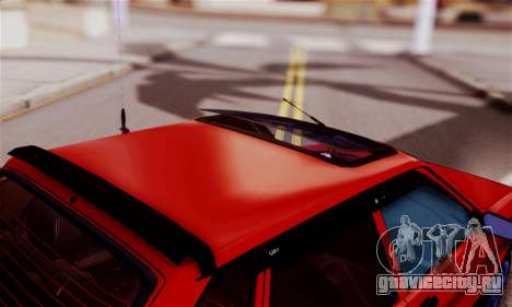 Lada 2109 для GTA San Andreas вид изнутри