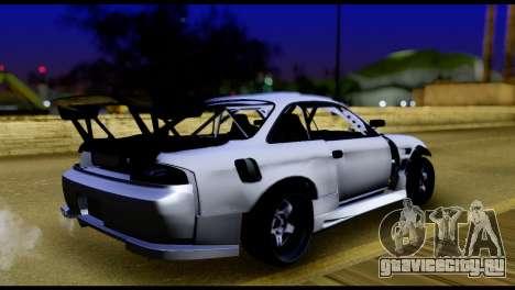 Nissan Silvia S14 DC Hunter для GTA San Andreas вид слева