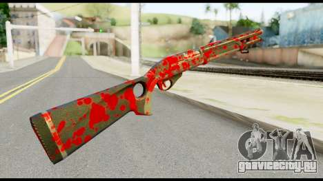 Combat Shotgun with Blood для GTA San Andreas второй скриншот