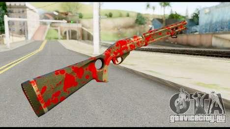Combat Shotgun with Blood для GTA San Andreas второй скриншот