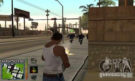 С-HUD RastaMan для GTA San Andreas