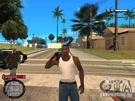 C-HUD Style для GTA San Andreas второй скриншот