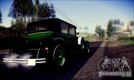 Albany Roosevelt (GTA V) для GTA San Andreas вид сзади