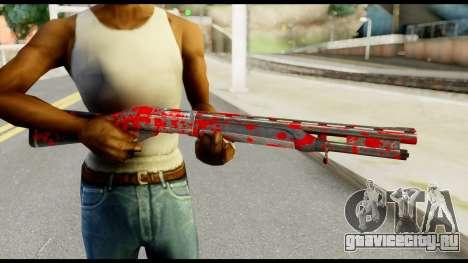 Combat Shotgun with Blood для GTA San Andreas третий скриншот