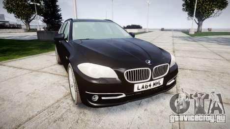 BMW 525d F11 2014 Facelift Civilian для GTA 4
