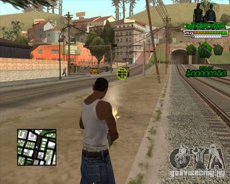 C-HUD for Groove для GTA San Andreas