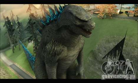 Godzilla 2014 для GTA San Andreas