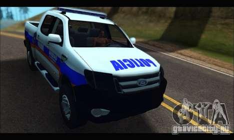 Ford Ranger P.B.A 2015 Text2 для GTA San Andreas