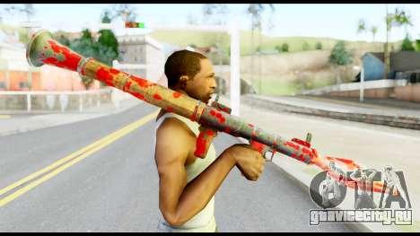 Rocket Launcher with Blood для GTA San Andreas третий скриншот