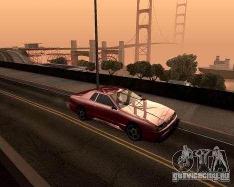 Artificial ENB для слабых ПК для GTA San Andreas третий скриншот