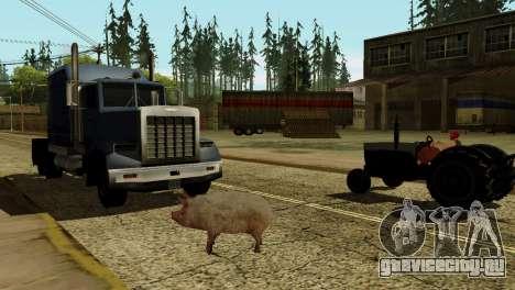 Возможность из GTA V играть за животных для GTA San Andreas шестой скриншот